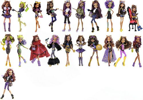 clawdeen wolf dolls monster high dolls pinterest