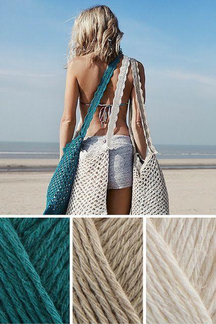Crochet bags for summer: a crochet pattern (Happy in Red)
