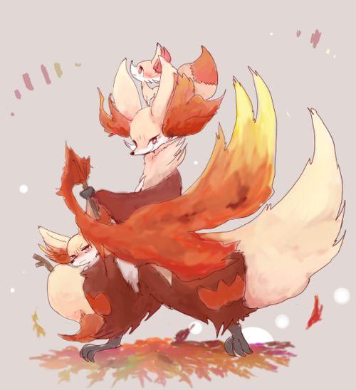 First time I play pokemon, is pokemon x and I choose Fennekin. So I could say Fennekin is my very first pokemon hehehe XD