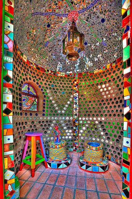 Inside our Composting Toilet, via Flickr.