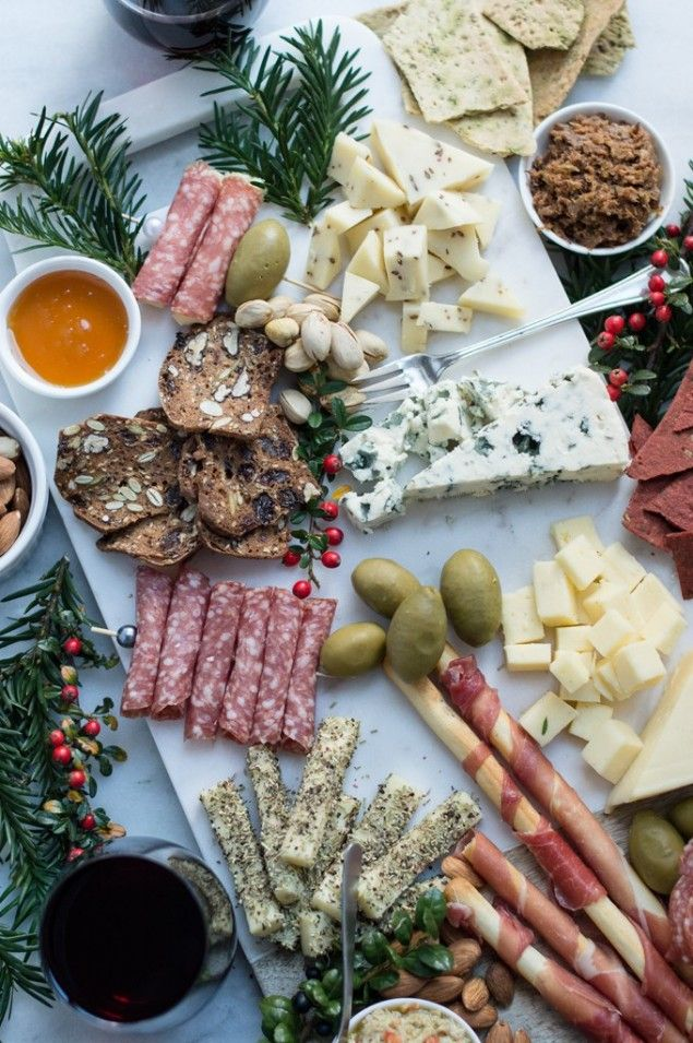 Winter Cheese Board with Artichoke Tapenade – Honest Cooking
