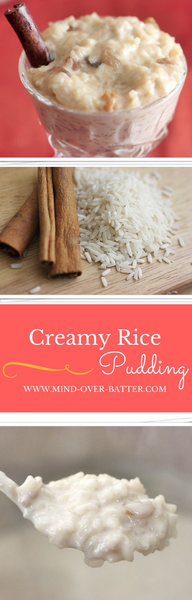 Creamy Rice Pudding (Arroz con Leche) www.mind-over-batter.com