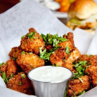 Chipotle Popcorn Chicken Recipe @keyingredient #chicken #delicious