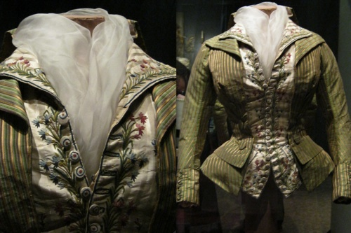 Another view of the Jacket & Gilet THAT MUST BE MINE, 1790: History, 1700 1790, 1780 1790, Caraco 1790, 1790 Jackets, 1700S, Fashion 1780 1799, Jackets Gilet, 1700 S