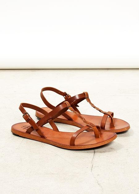 Braided sandals.Bruciato Sandals, Summer Sandals, Simple Leather, Ndc Flats, Ndc Juliet, Handmade Shoes, Braids Sandals, Juliet Bruciato, Clothing Fashion