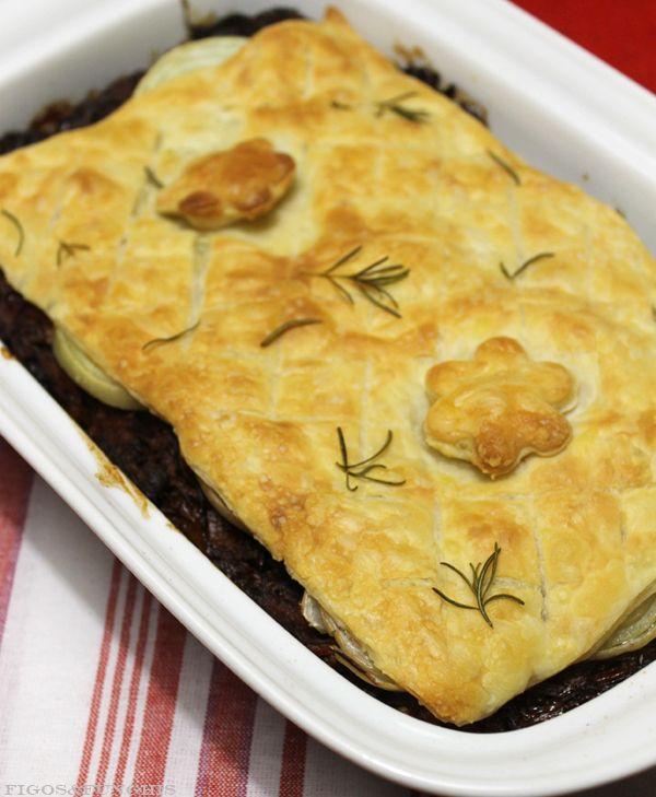 Torta de Carne Assada com Cerveja. Facílima. Prática. Deliciosa! | Blog Figos & Funghis