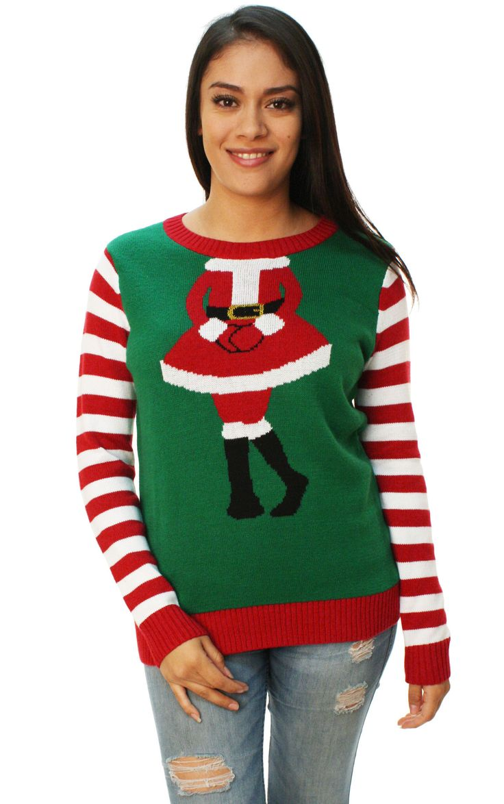 Ugly Christmas Sweater Women's Mrs. Claus Outfit Sweater