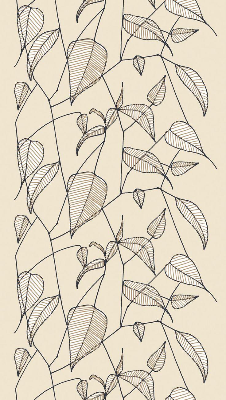Marimekko Sarastaa fabric, designed by Erja Hirvi