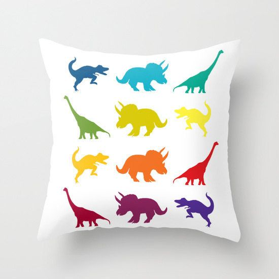 This lovely throw pillow. | 19 Dinosaur Things You Need In Your Life Right Now