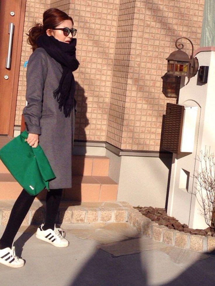 FRAMeWORKのチェスターコートを使ったmayumiさんのコーディネートです。│このチェスターコート、どれだけ着るんだ...