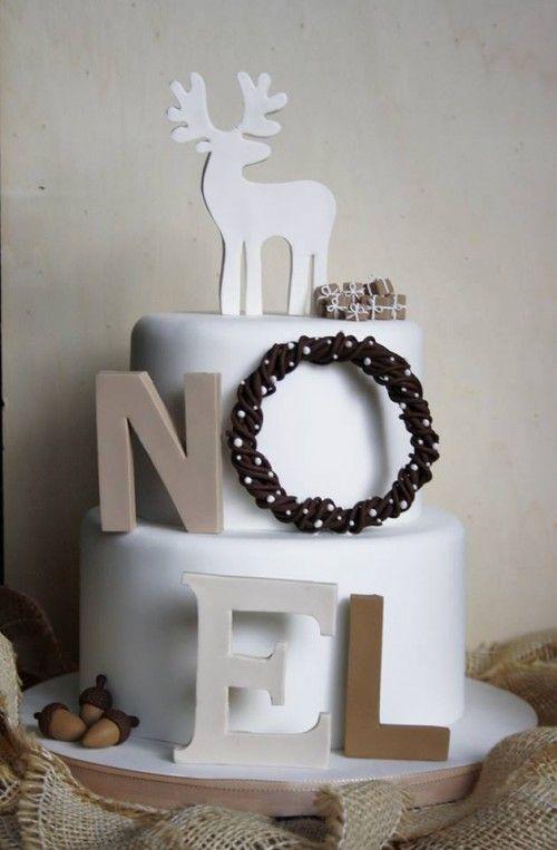 Christmas cake: tutorial - Cake