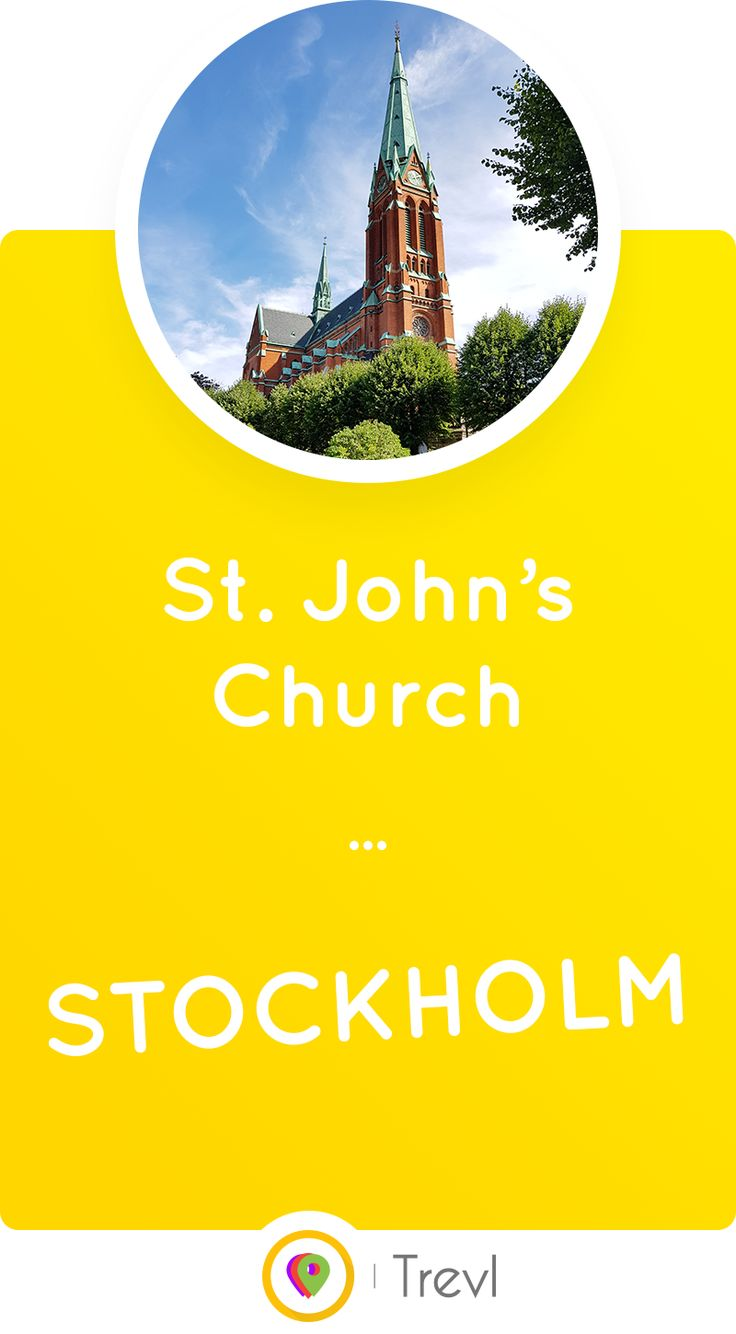Get to know the beautiful St. John's Church in Stockholm, Sweden which was built after several centuries of planning.