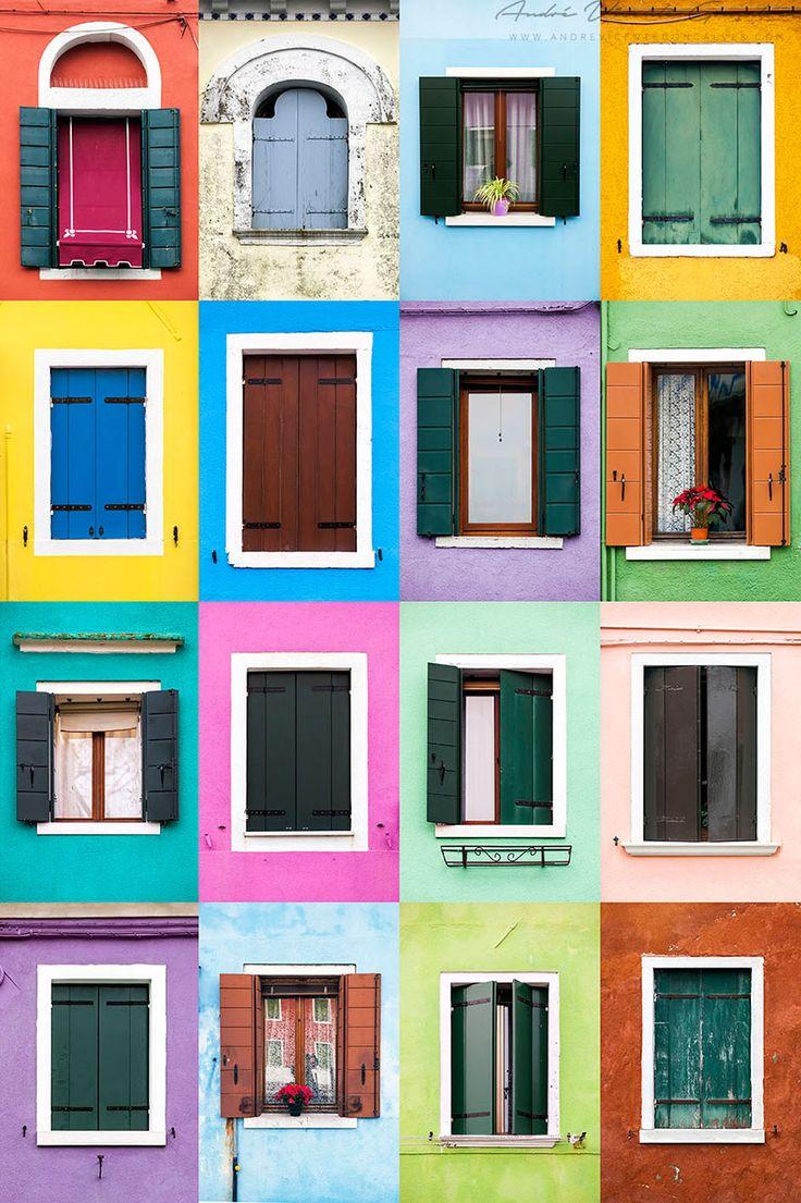 Windows Around The World: Burano