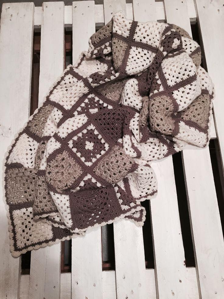 Cotone, rastrello e pennelli: La mia coperta Old America