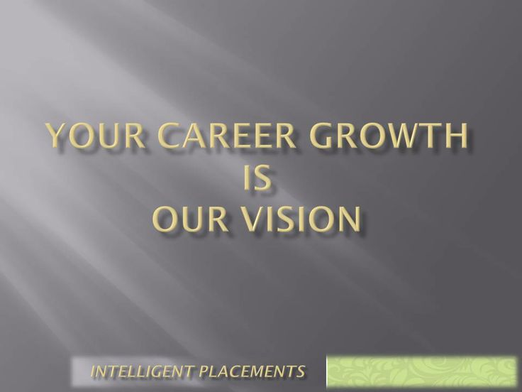 Your Career Growth is our Mission