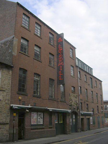 A Sheffield icon - the Leadmill!