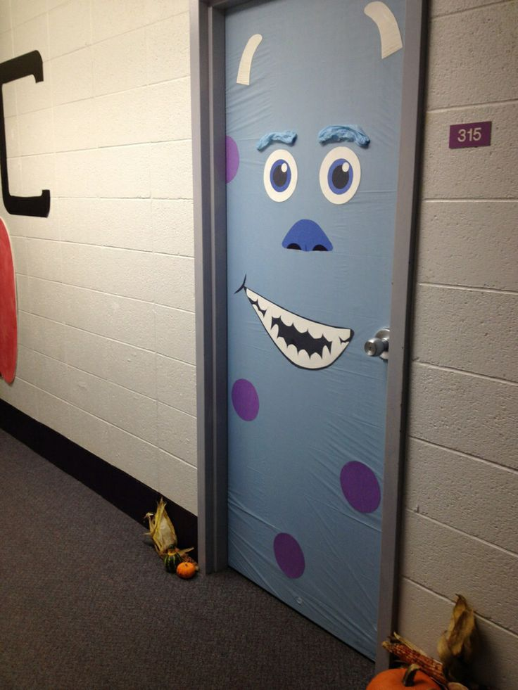 25 Best Ideas About Monster Door Decoration On Pinterest