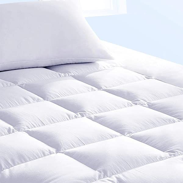 Pure Brands Mattress Topper And Pad Cover Extra Thick Luxury