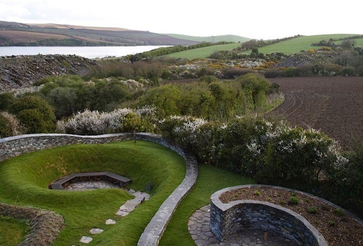 Landscape Designer Visit: Spirals in Stone on the Cornish Coast by Mary Reynolds