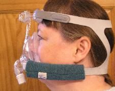 PAD A CHEEK PADDING for- CPAP SLEEP APNEA MASK - STRAP PADS