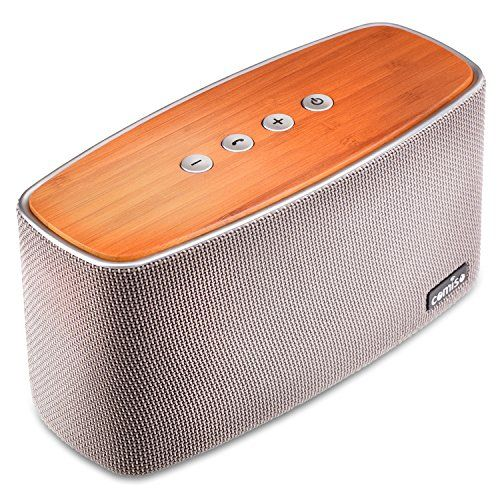COMISO 30W Bluetooth Speakers with Super Bass, Bamboo Wood Home Speaker with Subwoofer - (Grey) -  http://www.wahmmo.com/comiso-30w-bluetooth-speakers-with-super-bass-bamboo-wood-home-speaker-with-subwoofer-grey/ -  - WAHMMO