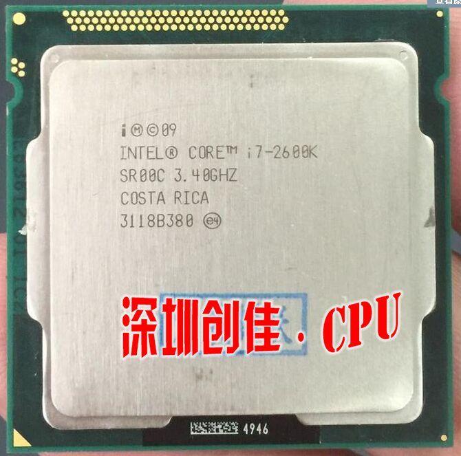 Used Intel Core i7 2600K 8M 3.4G 95W Quad Core Processor 5GT/s SR00C LGA 1155 SOCKET i7-2600K (working 100% ) //Price: $221.84//     #onlineshop