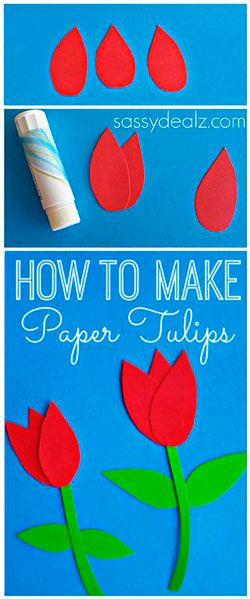 Tulipes de paper