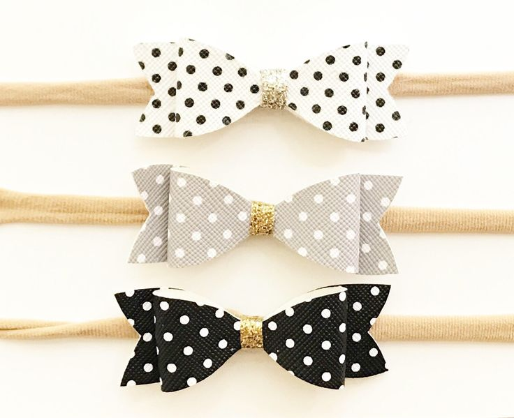 A personal favorite from my Etsy shop https://www.etsy.com/ca/listing/512857880/faux-leather-polka-dot-headband-faux