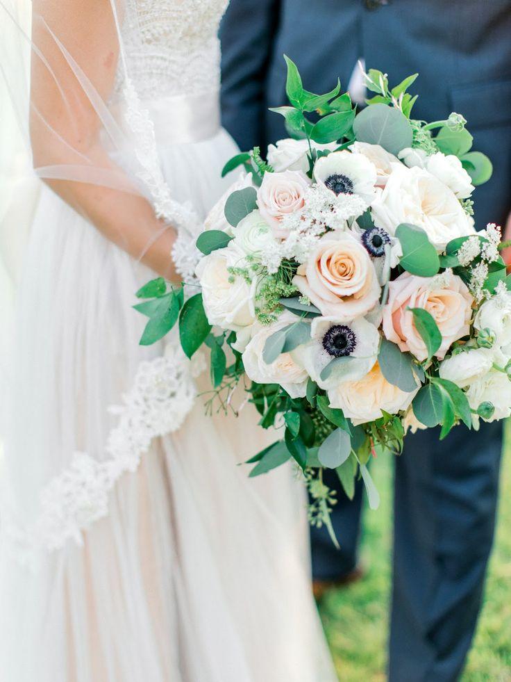 Fleurs De France Dallas Florist Wedding Flowers In Blush White With