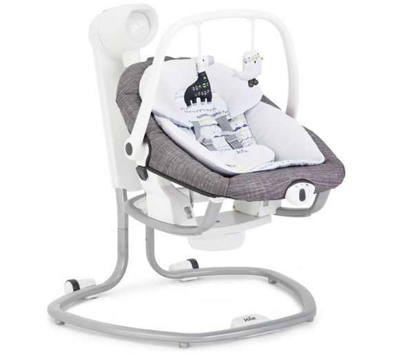Buy Joie Serina 2 in 1 Swing Rocker - Khloe and Bert at Argos.co.uk - Your Online Shop for Baby swings, Baby bouncers and swings, Baby toys, Baby and nursery.