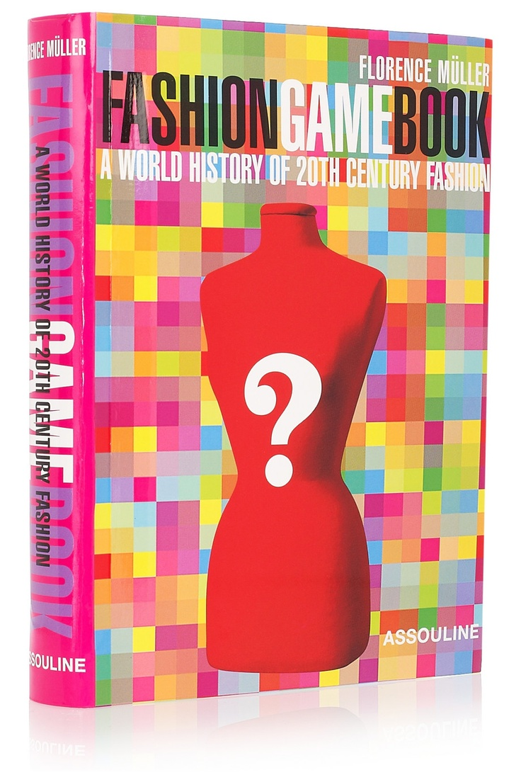 Assouline Fashion Game Book by Florence Muller hardcover book NET-A-PORTER.COM