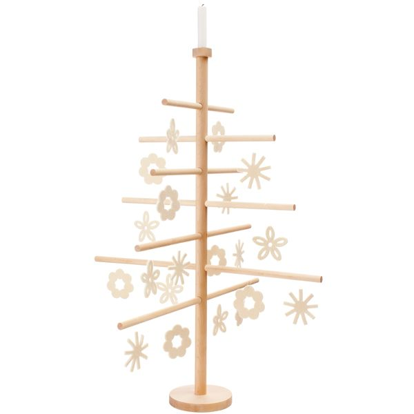Christmas tree candle holder by Verso Design.