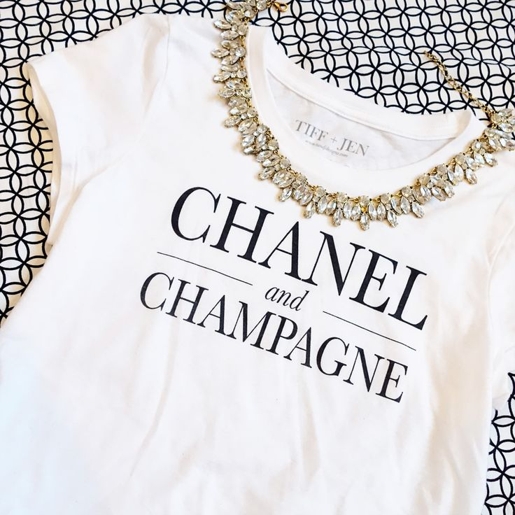 CHANEL and CHAMPAGNE: two of our favorite things!