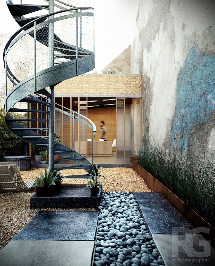 Shift rain garden by Dave Baker + Partners