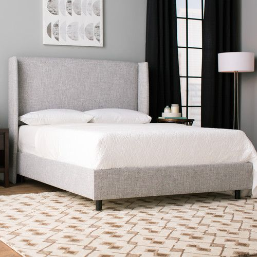 Found it at AllModern - Amendola Upholstered Panel Bed