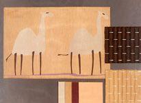 BROCHIER Poggioreale, Bruce, Reps and Cammello fabrics