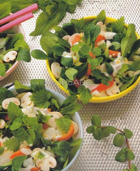 Vadnövény-saláta | Receptek