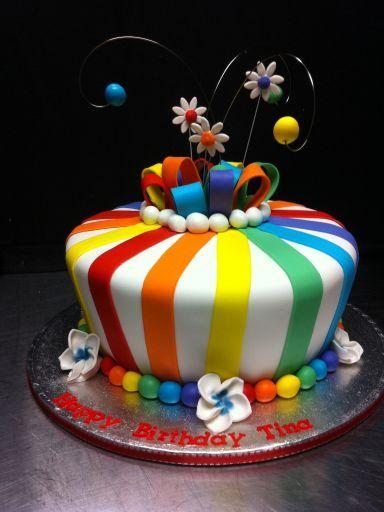 17 best ideas about rainbow cakes on pinterest