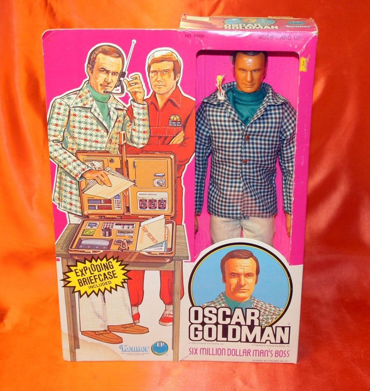 87 best images about six million dollar man action figures for Home decor kenner