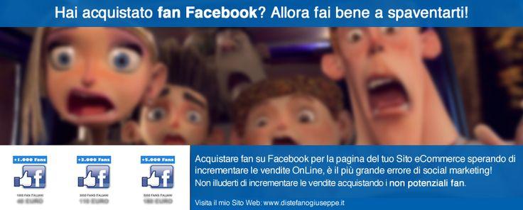 Social Network: comprare fan Facebook(?) - Giuseppe Distefano