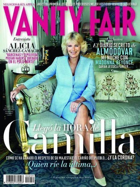 Camilla Parker-Bowles - Vanity Fair Magazine Cover [Spain] (July 2013)