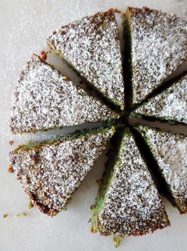 Food for thought: Κέικ με φιστίκι Αιγίνης - Χωρίς αλεύρι