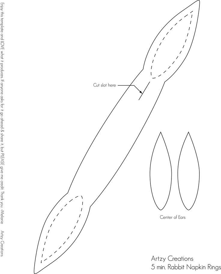 Template - Easter Napkin Ring