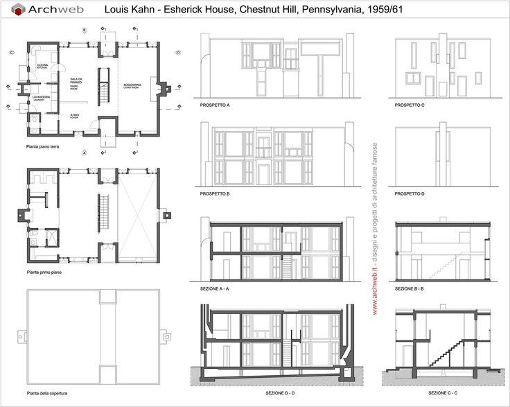 Esherick House dwg drawings