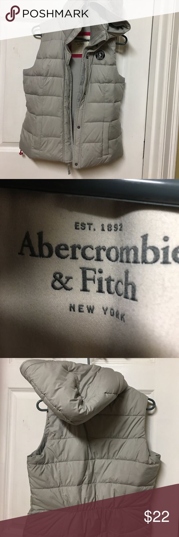 Abercrombie fitch hoodie jacket 100% polyester good condition Abercrombie & Fitch Jackets & Coats