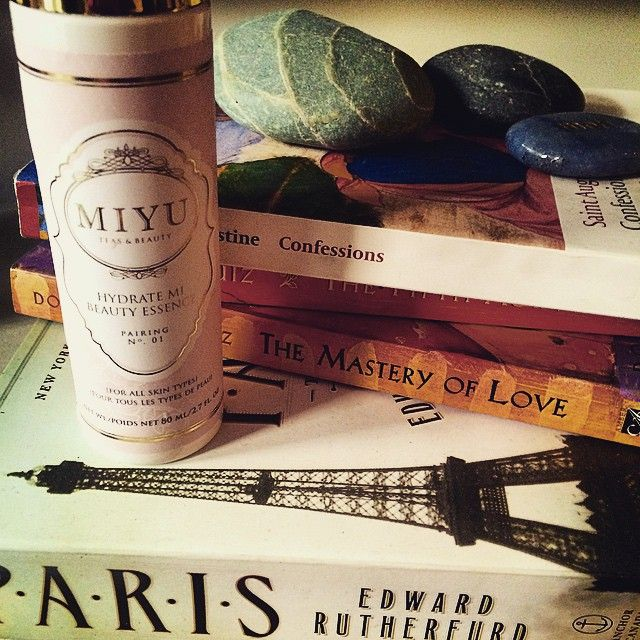 MIYU Beauty is OUR BEST FRIEND for long days on set and long nights of studying. Talk about skin saver!