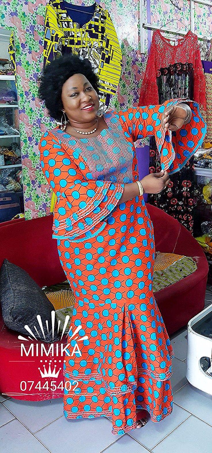 Pagnes en 2020   Robe africaine tendance, Mode africaine robe longue, Mode africaine robe