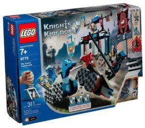 LEGO Knight's Kingdom: Grand Tournament Play Set by Lego. $54.88. For Ages 7 & Up. Add to your LEGO collection. Fun for imagination play. Great gift for any occasion. Includes 311 pieces. The Grand Tournament is the ultimate test to decide who will be King of Morcia. Every year the people of Morcia gather to watch the knights compete in amazing sport-like events like The Joust, Head-to-Head and Tournament Lightening. Part of the Knights' Kingdom series, this LEGO tourna...