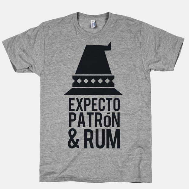 Expect Patron & Rum | 21 T-Shirts That Perfectly Express How You Feel About Alcohol