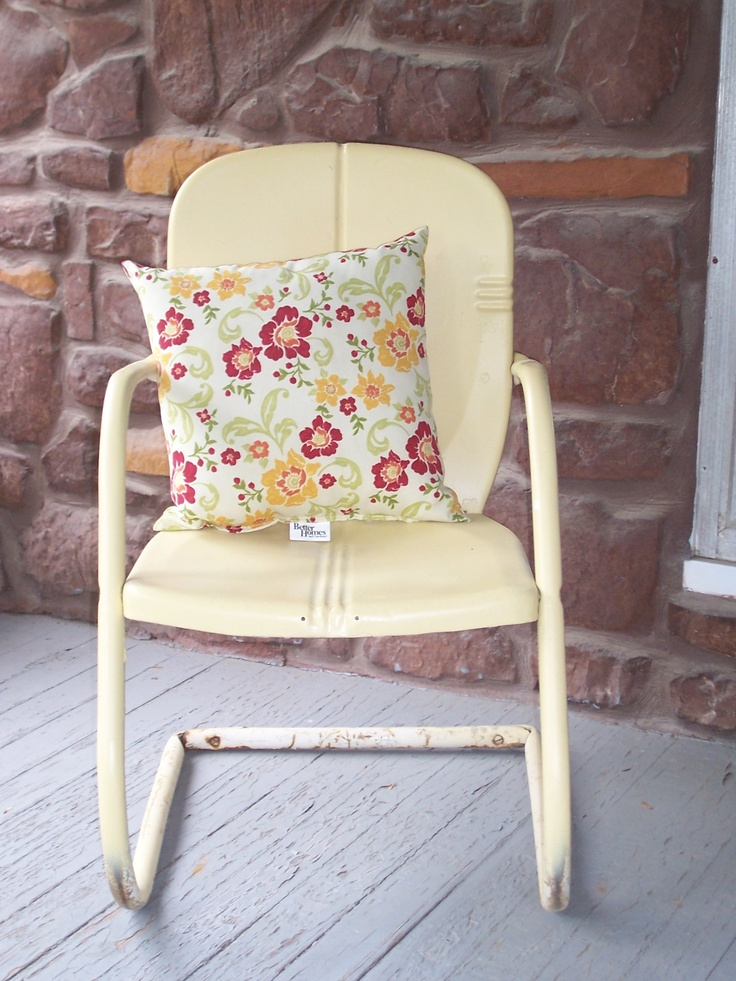 vintage metal chair - Best 25+ Vintage Metal Chairs Ideas On Pinterest Chair Tips For
